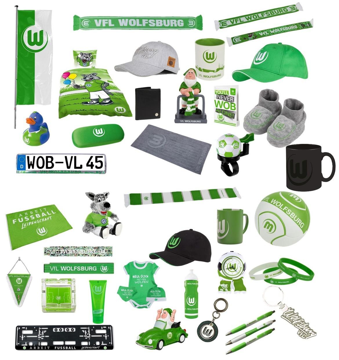 VfL Wolfsburg Freundschaftsarmband 3-er Set