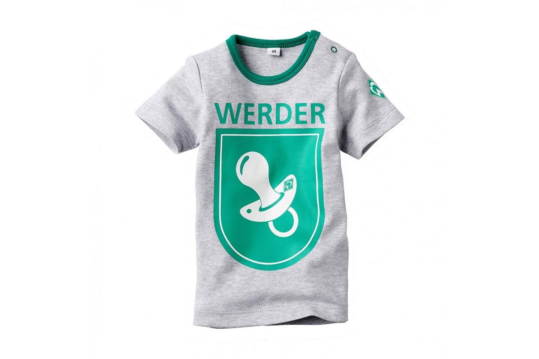 Baby Hose grau Gr 56-80 SV Werder Bremen