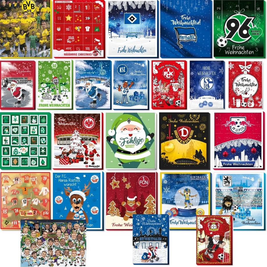 Details Zu Weihnachtskalender Adventskalender 1 2 Bundesliga 3 Liga 2019