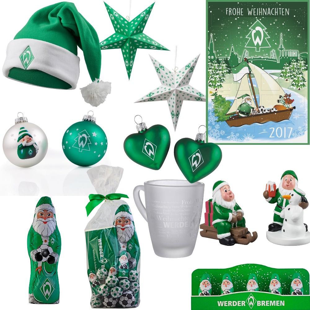 Frohe Weihnachten Werder Bremen.Details Zu Weihnachtsartikel Tasse Mutze Zwerg Weihnachtsmann Kalender Sv Werder Bremen