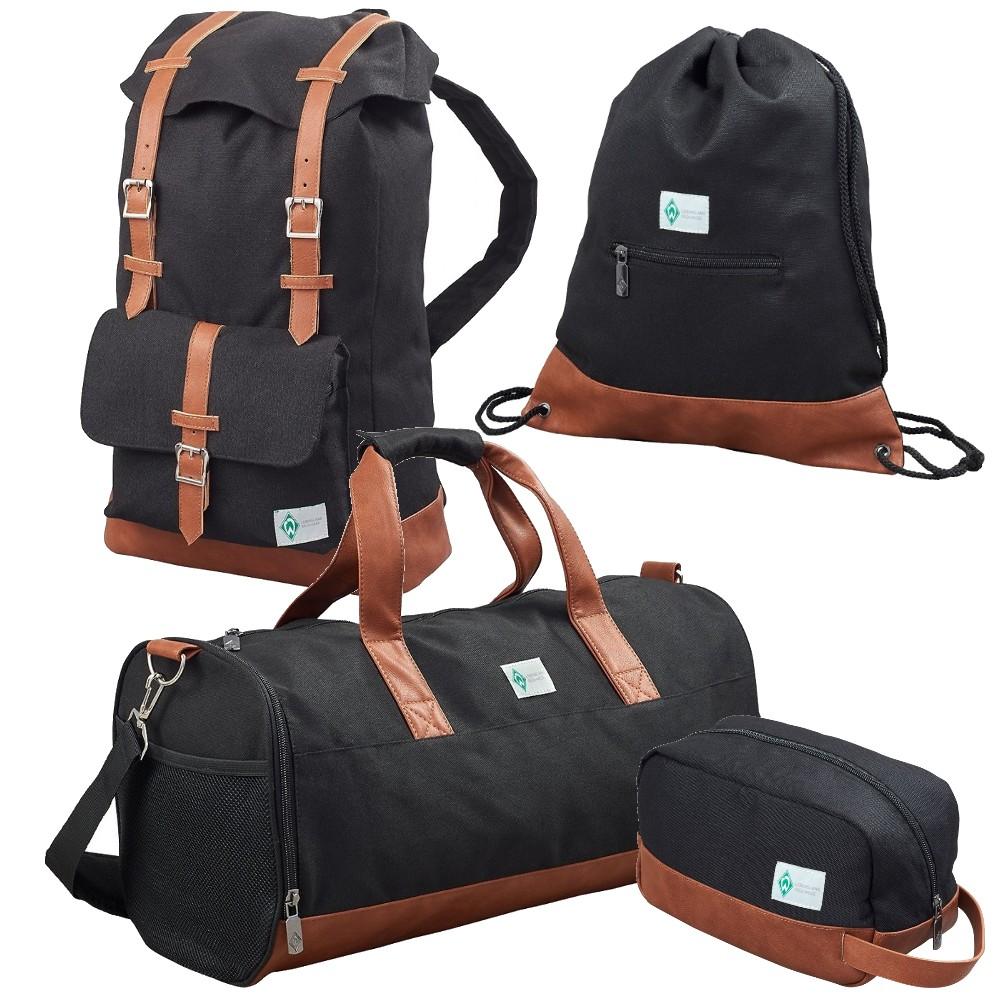 kulturtasche reisetasche turnbeutel rucksack sv werder bremen ebay. Black Bedroom Furniture Sets. Home Design Ideas