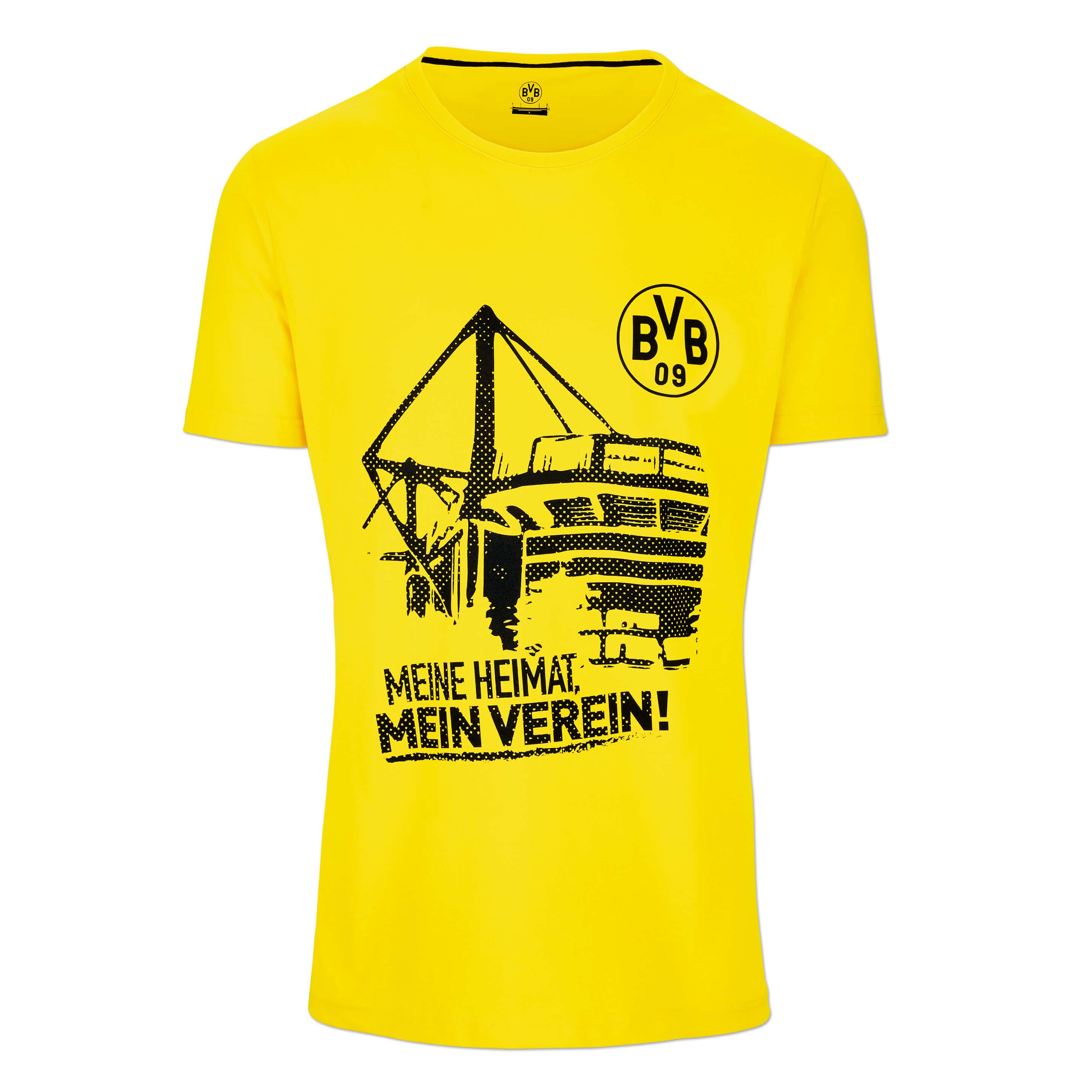 world-of-shirt Herren Polo Shirt Dortmund meine Heimat mein Verein