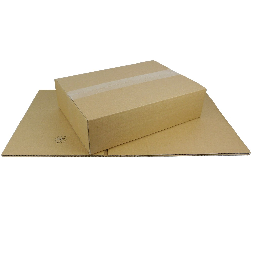 Faltkarton DHL Päckchen 350x250x100 mm Versandkarton Schachtel Kiste
