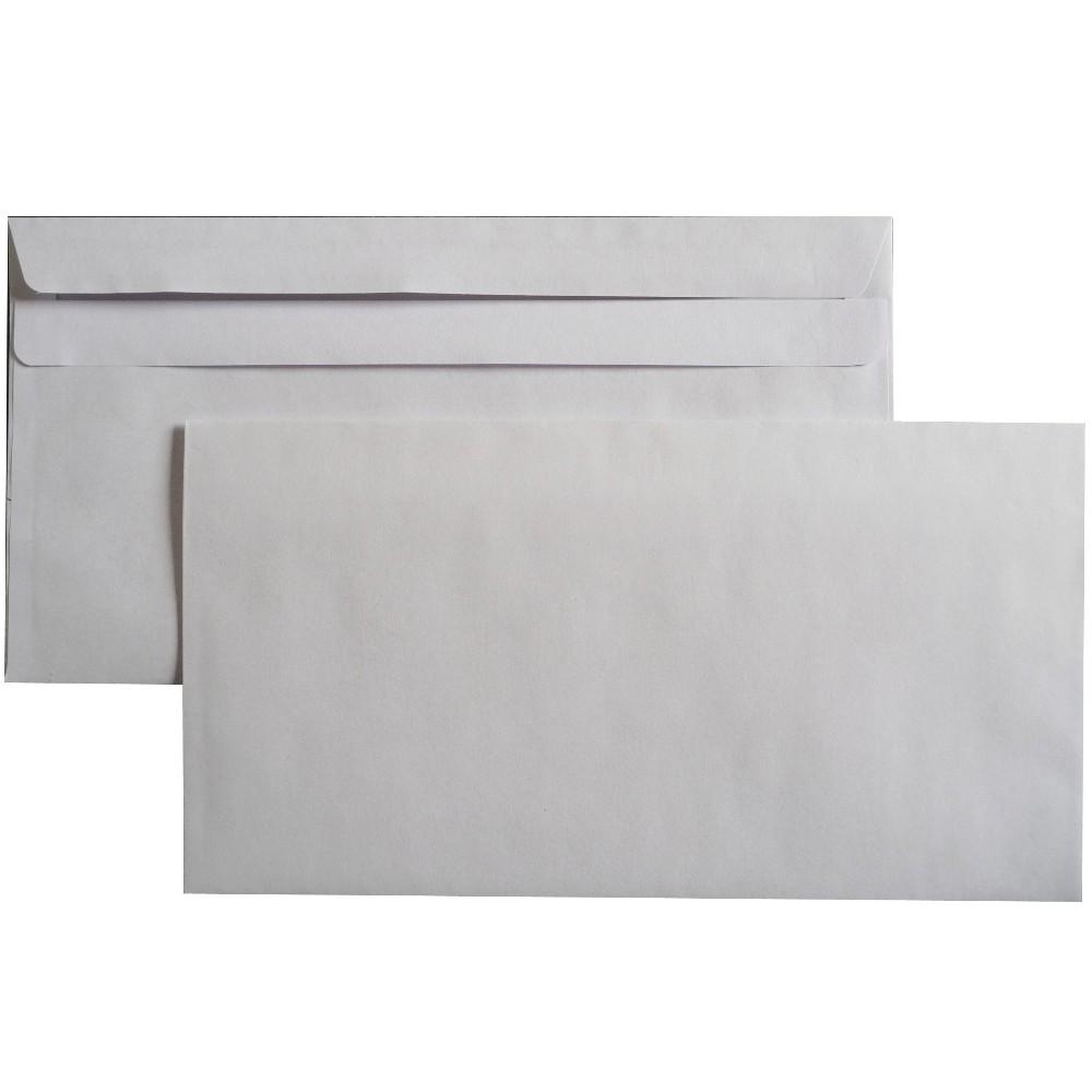 Briefumschläge selbstklebend o. Fenster 125x235 mm kompakt 75 g/m²