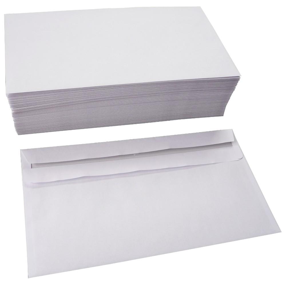 Briefumschläge selbstklebend o. Fenster 110x220 mm DIN lang 75 g/m²