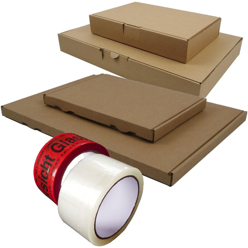 Musterpaket 2 - Klebeband; MBK; MB; GBK; GB 22 teilig
